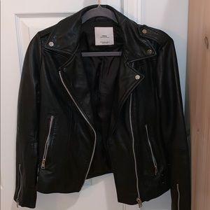 Mango leather jacket